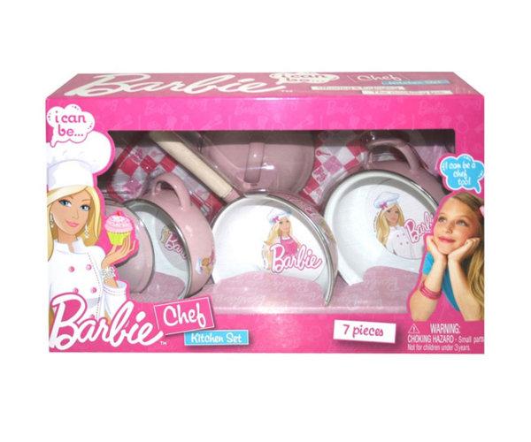 Съдове за готвене Барби